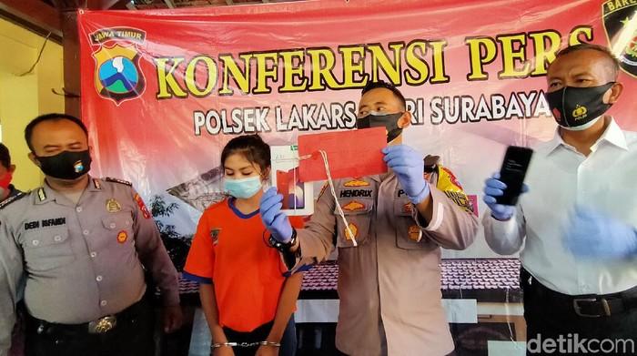 Ini Alasan Gadis di Surabaya Terlibat Aksi Begal HP