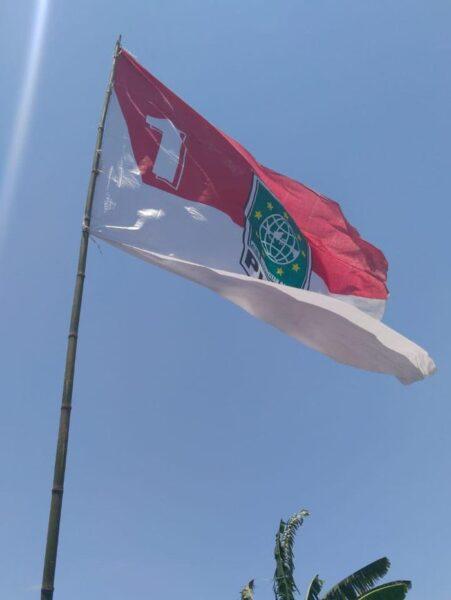 Bendera PKB Berlatar Merah-Putih Dicopoti Satpol PP