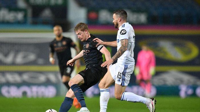 Unggul Duluan, Man City Diimbangi Leeds United 1-1