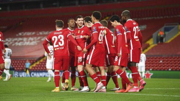 Liverpool 2-0 Midtjylland: Gol ke-10.000 The Reds dari Diogo Jota