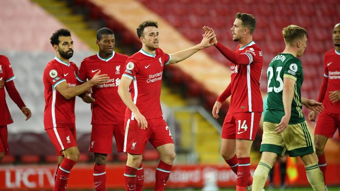 Liverpool 2-1 Sheffield: Diogo Jota Penentu Kemenangan The Reds