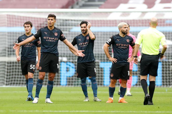 West Ham 1-1 Man City: The Citizens Tidak Hoki