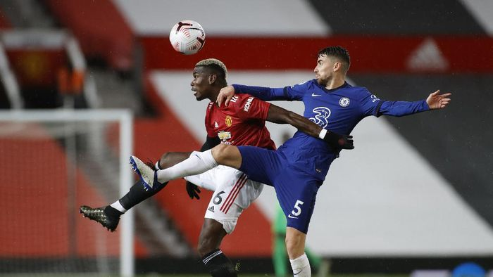 Man United 0-0 Chelsea: Debut Cavani Berakhir Seri