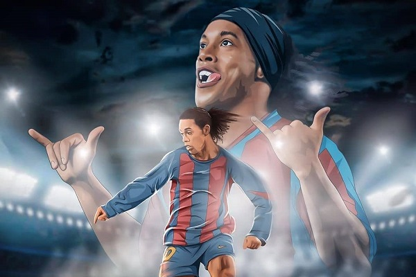 Legenda Barcelona Ronaldinho Apes Banget: Hidup Melarat, Masuk Penjara, Kini Kena Covid-19