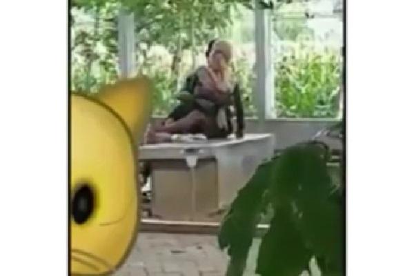 Viral! Video Tak Senonoh Sejoli Bercumbu di Taman Kota Ponorogo