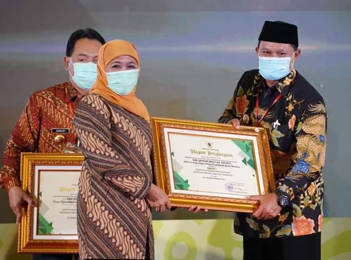 Mantap! Kota Madiun Raih Penghargaan KBK dan Kovablik 2020