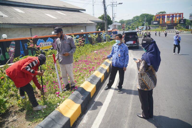 Patok Dipasang, Penentuan Lokasi Ring Road Timur Madiun Dimulai