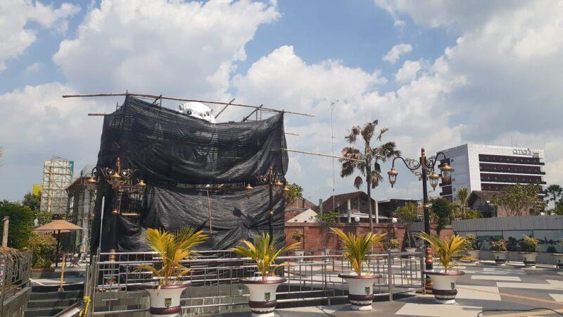 Patung Merlion di Sumber Wangi Madiun Bakal Diresmikan Desember