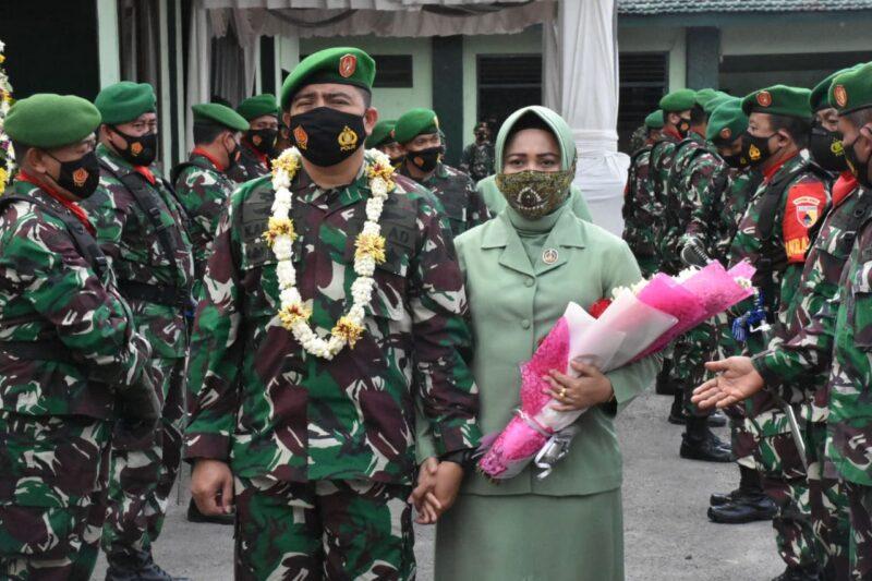 Setelah 28 Bulan Bertugas di Kodim Madiun, Letkol Nur Alam Dipindah ke Kalimantan
