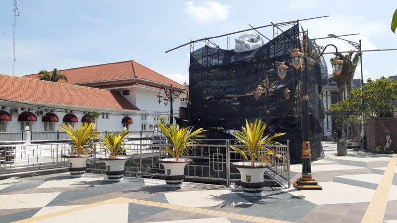 Pembangunan Patung Merlion Dikritik, Ini Jawaban Wali Kota Madiun