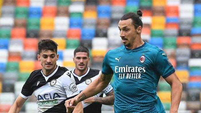 Udinese 1-2 AC Milan: Ibrahimovic Kian Produktif