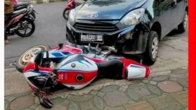 Ayla Tabrak Honda CBR1000RR Akhirnya Damai, Alasannya Bikin Baper
