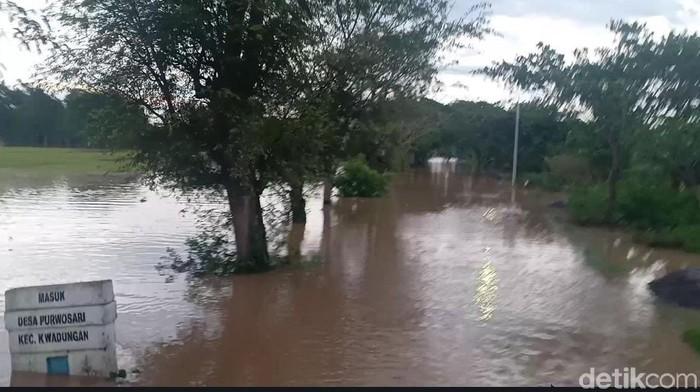 Sungai Madiun Meluap, 3 Kecamatan di Ngawi Kebanjiran