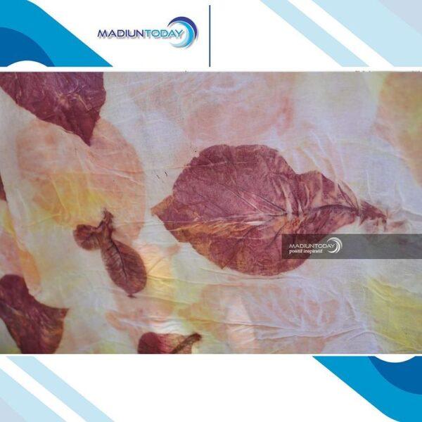 Batik Ecoprint, Seni Batik yang Menampilkan Corak Menarik