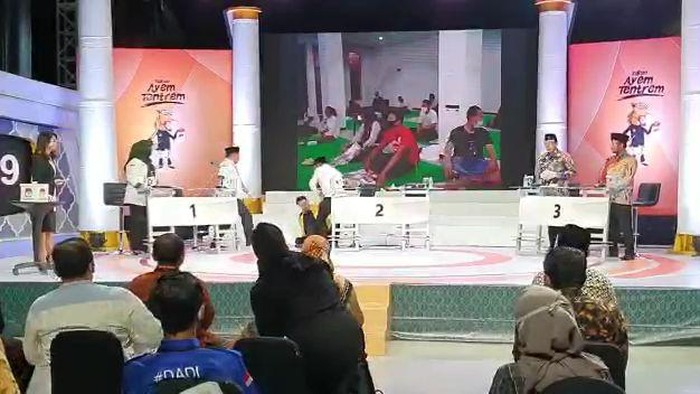 Debat Pilkada Tuban, Cabup Terjatuh