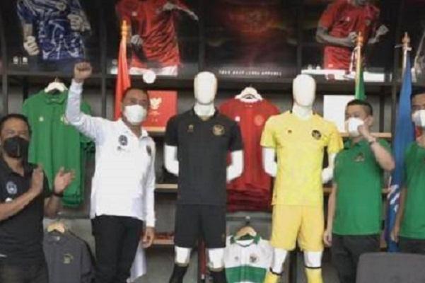 Hore Akhirnya PSSI Rilis Jersey Ketiga Timnas Indonesia