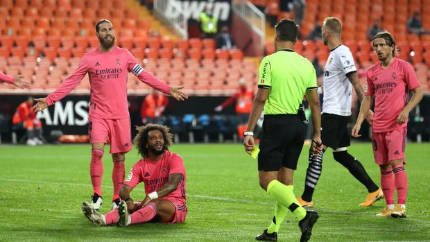Valencia 4-1 Real Madrid: Kena 3 Penalti, Madrid Terkapar di Mestalla