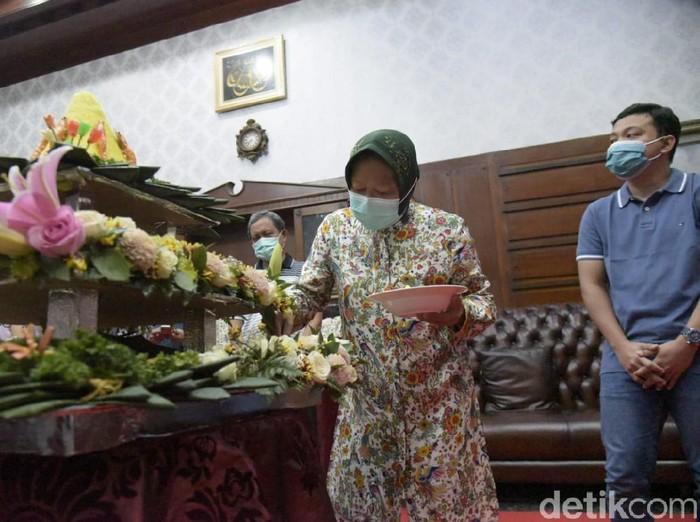 Ultah Terakhir sebagai Wali Kota Surabaya, Risma Dapat Kejutan Istimewa