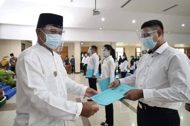 163 CPNS Kota Madiun Terima SK Pengangkatan, Aktif Kerja Awal Tahun