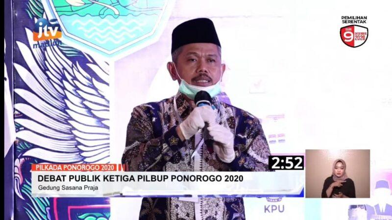 Harta Kekayaan Cawabup Ponorogo Bambang Tri Wahono Hampir Rp3 Miliar