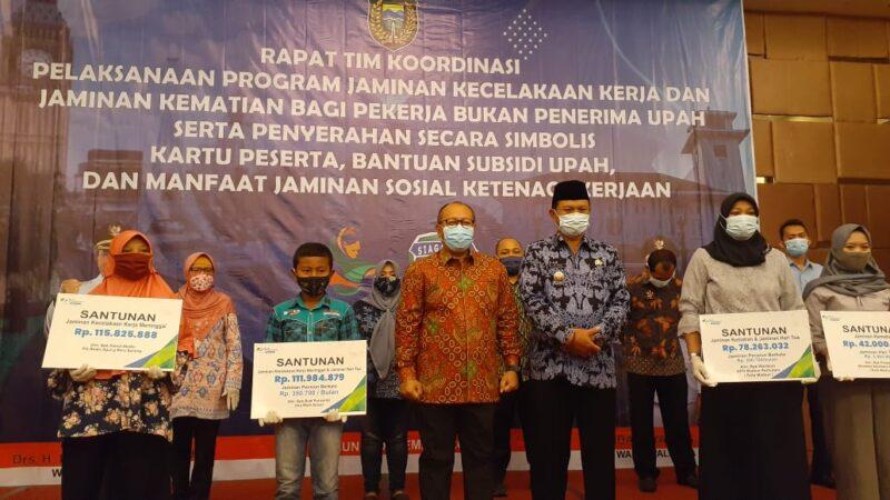 Pemkot Madiun Beri Jaminan Sosial Bagi Pekerja Informal, Dirut BPJS Ketenagakerjaan Sebut yang Pertama di Indonesia