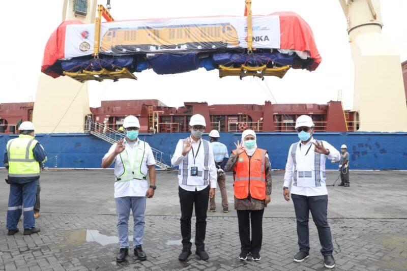 Mantap! Inka Kirim 3 Lokomotif dan 15 Kereta Penumpang ke Filipina