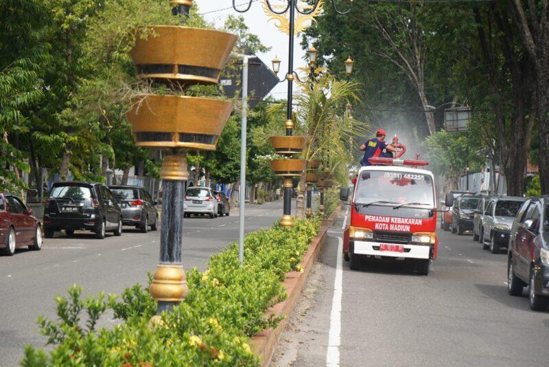 Kota Madiun Zona Merah Covid-19, Lampu Penerangan Fasum Dimatikan Pukul 20.00 WIB