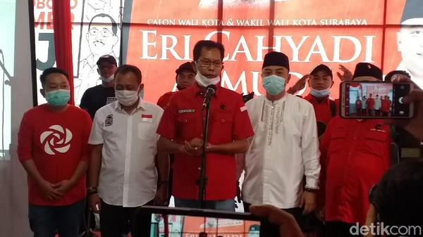 Eri-Armuji Unggul Hitung Cepat Pilkada Surabaya