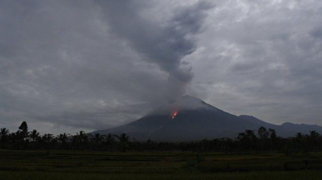Waspada! Gunung Semeru Luncurkan Awan Panas 3,5 Kilometer