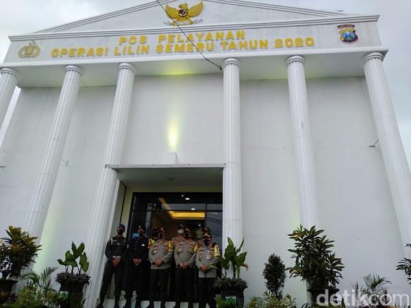 Wow, Pos Pelayanan Polisi di Malang Ini Mirip Istana Negara