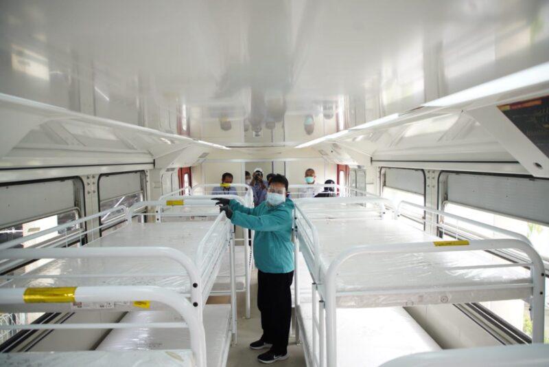 Inka Bikin Kereta Medis untuk Isolasi Pasien Covid-19