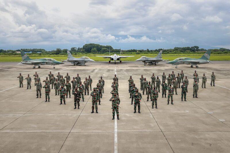 Panglima TNI Tinjau Fasilitas Latihan ACMI di Lanud Iswahjudi