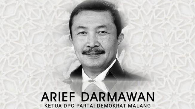 Kota Malang Berduka, Ketua Partai Demokrat Kota Malang Meninggal Positif Covid-19
