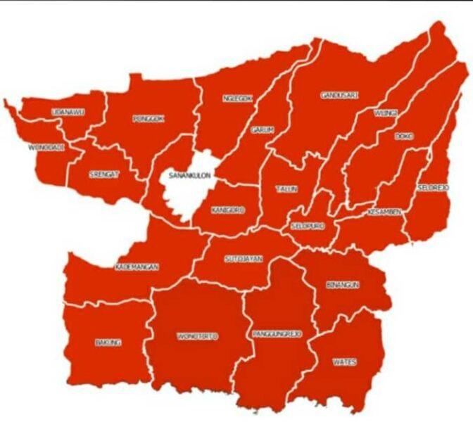 Waduh! Tingkat Kematian Covid-19 di Kabupaten Blitar Lampaui Nasional