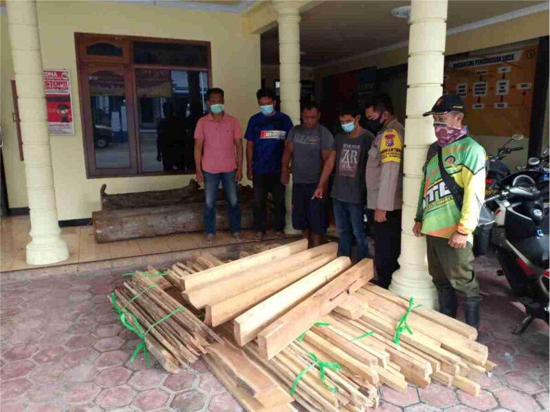 Curi Kayu Jati di Hutan Ponorogo, Polisi Tangkap 2 Pria Ini