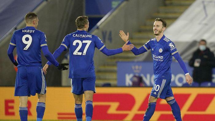 Leicester City 2-0 Chelsea: Si Rubah Geser Manchester United dari Puncak Klasemen Liga Inggris