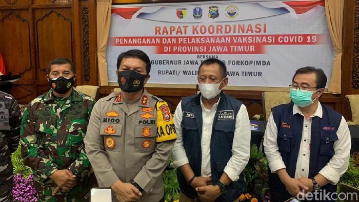 PPKM di Jatim Hanya Surabaya Raya dan Malang Raya