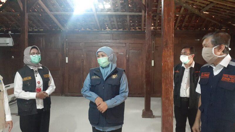 Gubernur Jatim Resmikan RS Lapangan Dungus di Madiun, Bisa Tampung 150 Pasien Covid-19