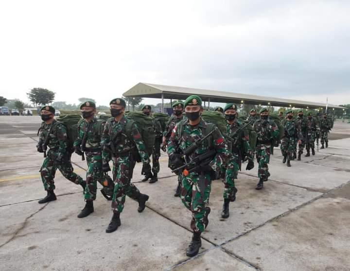 450 Prajurit TNI di Madiun Diberangkatkan untuk Jaga Perbatasan Indonesia-Papua Nugini