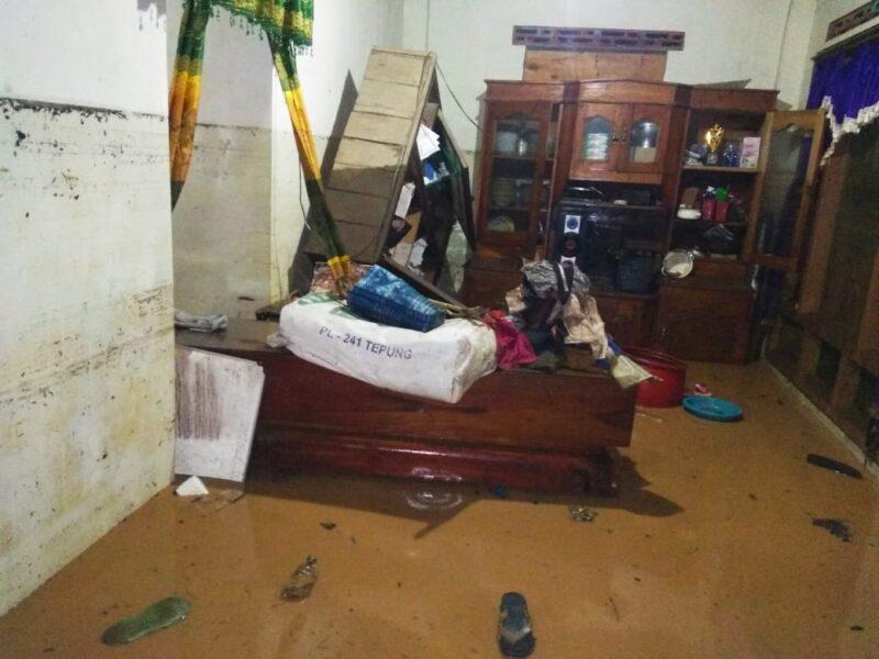Banjir Bandang Terjang Madiun, 27 Rumah Terdampak dan 6 Rumah Rusak Parah