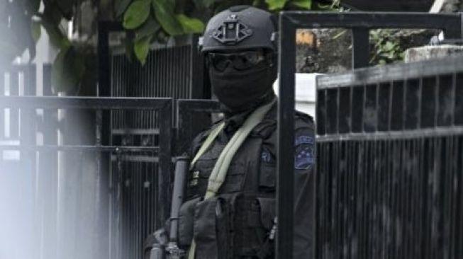 Densus Total Ringkus 4 Terduga Teroris di Bojonegoro
