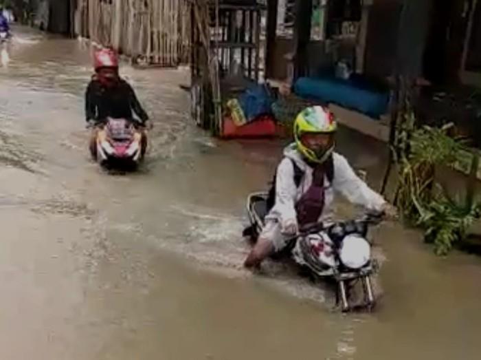 Anak Bengawan Solo Meluap, 62 Desa di Lamongan Kembali Terendam