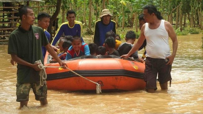 2.138 Jiwa Terdampak Banjir Jember Selatan