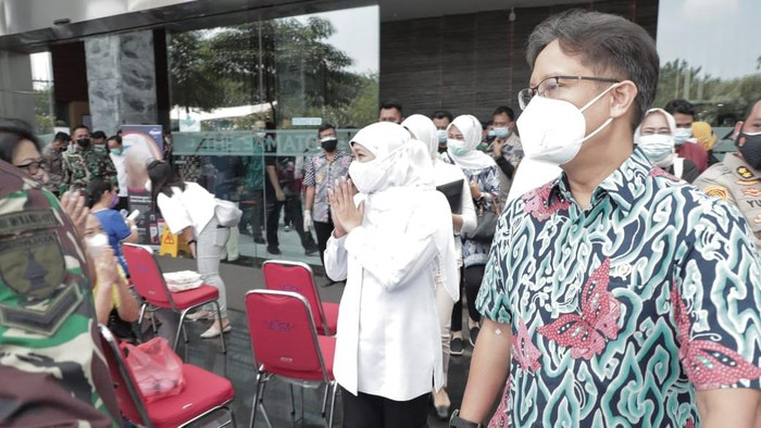 2 Hari 3.000 Orang Lansia, Target Vaksinasi Covid-19 di Jatim