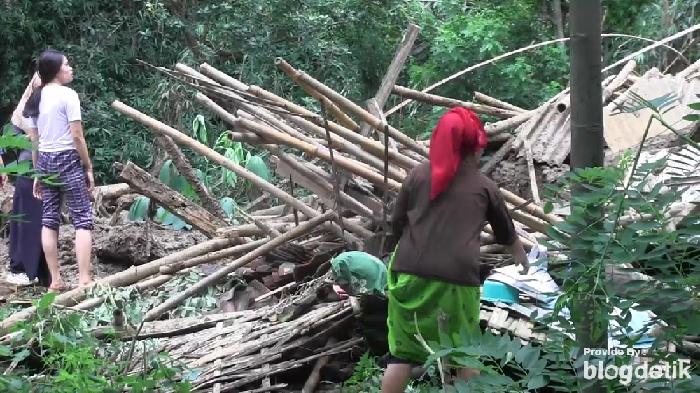 Longsor di Lumajang, 13 Rumah Rusak, 37 Orang Mengungsi