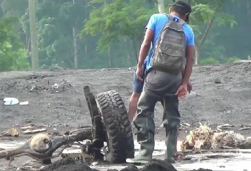 Terseret Lahar Dingin Semeru, Mobil Ditemukan Tinggal Rangka Sejauh 6 Kilometer