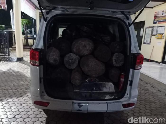 Waduh, Mobil Siaga Desa Dipakai Angkut Kayu Hasil Pembalakan Liar