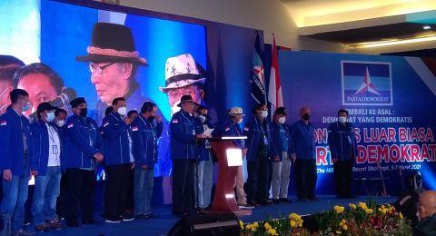 KLB Deli Serdang Tetapkan Moeldoko sebagai Ketua Umum Partai Demokrat