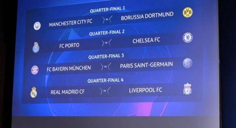 Drawing Perempat Final Liga Champions: Madrid Lawan Liverpool, PSG Hadapi Munchen