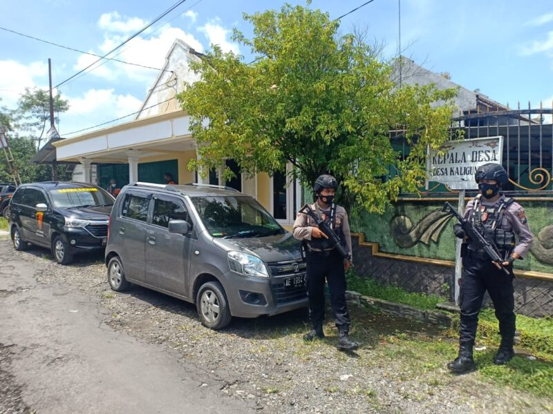 Polisi Geledah Rumah Kades dan Kantor Desa Kaligunting Madiun, Ada Apa?